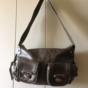 Marc by Marc Jacobs army green leather bag